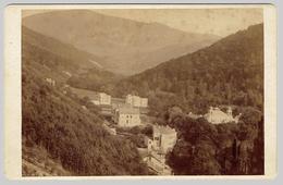 Czech Republic.Teplice. Cabinet Photo Trencsen & Teplicz Russian Church? (1886) - Places