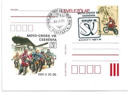 4964 Hungary FDC Sport Bike Motocross - Motos