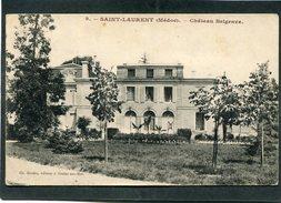 CPA - SAINT LAURENT (Médoc) - Château Belgrave - France