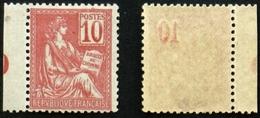 N° 112 Neuf N** 10 C MOUCHON TB Cote 95€ Signé Calves - 1900-02 Mouchon