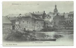 CPA Precurseur - BERLAIMONT, LE MOULIN - Nord 59 - Circulé 1903 - Imp. Delgorge à Maubeuge - Berlaimont