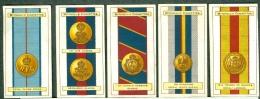 Full Set Original Cigarettes Card Mitchell & Son - Army Ribbons & Buttons - Lot De 25 Cartes - Cigarette Cards
