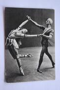 """Ballet  """"Love Legends"""" - Dancer Liepa And Bessmertnova - OLD Postcard 1965 - Danse"""