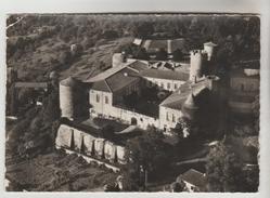 CPSM LEZOUX (Puy De Dome) - Château De Ravel Face Sud Entrée Principale Et Cour D'honneur - Lezoux