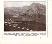 1931 - Iconographie Documentaire - Le Monêtier-les-Bains (Hautes-Alpes) - Le Col Du Lautaret - FRANCO DE PORT - Vieux Papiers