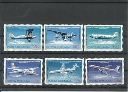 RUMANIA YVERT AEREO  239/44   MNH  ** - Aéreo