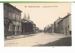 CPA-69-LYON-LE POINT-du-JOUR-LA GRANDE RUE ET LA PLACE- - Lyon