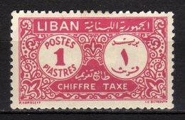 LIBANO - 1952 Scott# J50 * - Líbano