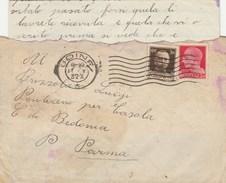 6082 Lc.  Busta Con Corrispondenza Da Udine A Ponteceno Bedonia Parma 1932 - 1900-44 Victor Emmanuel III