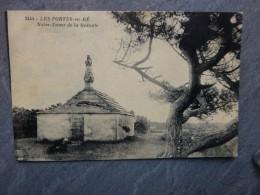 17 Les Portes-en-Ré Notre-Dame De La Redoute Belle CP Ancienne ; Ref  302 - Ile De Ré