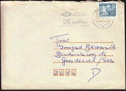 Germany DDR Weimar 1987 / Kombinat Fortschritt / VEB Weimar - Werk / Machine Stamp - Fabbriche E Imprese