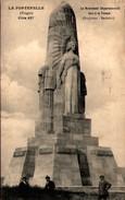 LA FONTENELLE (Vosges) - Côte 627 - Le Monument Départemental Face à La France (Sculpteur : Bachelet) - France