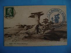 CP AFRIQUE -MAURITANIE - ROCHERS A PORT ETIENNE- ECRITE EN 1923 - Mauritania