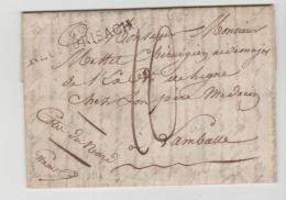 FP001 /  FRANKREICH -  Neu-Brisach 1816 Mit Vollem Textinhalt - Poststempel (Briefe)