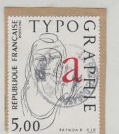 Frankreich 260 /Typographie 1986 O - Oblitérés