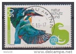 """Österreich 2013: """"Naturschutzbund"""" Gestempelt (siehe Foto/Scan) - 2011-... Gebraucht"""
