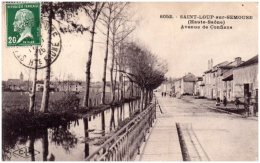 70 SAINT-LOUP-sur-SEOUSE - Avenue De Conflans   (Recto/Verso) - Otros Municipios