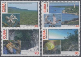 2016.53 CUBA 2016 MNH. PARQUE NACIONAL DESEMBARCO DEL GRANMA. FLORES AVES CARACOLES. FLOWERS BIRDS SNAILS. - Ongebruikt