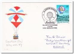 Seefeld Ballonpost-Werbeschau 3-10-1987 Seefeld In Tirol - Luchtballons