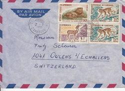 Deux (2) Lettres Par Avion. De Bamenda Est Cameroon / Timbres Animaux De La Savane - Cameroon (1960-...)
