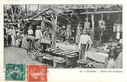 COLOMBO BAZAR DES INDIGENES SRI LANKA CEYLON - Sri Lanka (Ceylon)