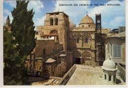 JERUSALEM -  L'Eglise Du Saint Sepulchre , 1977,  Nice Stamp - Israel