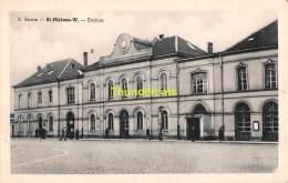 CPA STATIE SINT NIKLAAS WAAS STATION - Sint-Niklaas