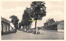 CPA BEERNEM STATION EN HUBERT D'YDEWALLESTRAAT - Beernem