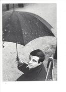 16368 - François Truffaut Avec Son Parapluie En 1959 Photographie Jeanloup Sieff Editions Du Désastre 1986 - Acteurs