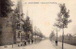 SAINT-OMER ( 62 ) - Boulevard De Strasbourg - Saint Omer