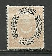 Turkey; 1881 Duloz Postage Stamp Type VI 2 K., Mi. 43 - 1858-1921 Ottoman Empire