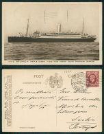 BARCOS SHIP BATEAU PAQUEBOT STEAMER [BARCOS #01257] - RMS ARLANZA - Steamers