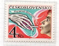 PIA - 1981 : CECOSLOVACCHIA : Campagna Contro Il Fumo  - (Yv 2461) - Pollution