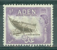 Aden: 1954   Royal Visit   MNH - Aden (1854-1963)