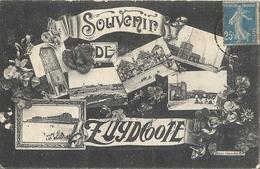 CPA Souvenir De Zuydcoote - Francia
