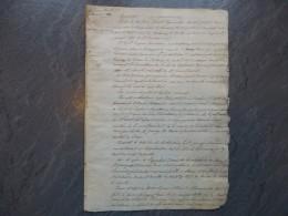 85 POUZAUGES 1855 Procès Succession JH Merlet, Sa Gouvernante Eug Sourisseau épouse Guerry ; Ref 320 VP 14 - Documents Historiques