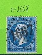 OBLIT GC N°1667 GODERVILLE - SEINE INFERIEURE - Marcophilie (Timbres Détachés)
