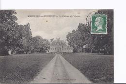 4 CP Diverses De Châteaux: Marolles-en-Hurepoix, Bâville,Lormoy à Longpont Et Grosbois (CPSM Petit Format) - Non Classés