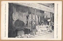 Curacao Panama  Hats    Middenstandstentoonstelling Te Amsterdam 1900 I   Cao98 - Curaçao