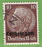 MiNr.6 O Deutschland Besetzte Gebiete II.WK Lothringen - Besetzungen 1938-45