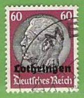 MiNr.14 O Deutschland Besetzte Gebiete II.WK Lothringen - Besetzungen 1938-45