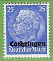 MiNr.10 Xx Deutschland Besetzte Gebiete II.WK Lothringen - Besetzungen 1938-45