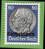 MiNr.15 Xx Deutschland Besetzte Gebiete II.WK Lothringen - Besetzungen 1938-45