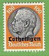 MiNr.16 Xx Deutschland Besetzte Gebiete II.WK Lothringen - Besetzungen 1938-45