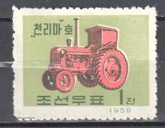 Korea North - 1959 -  Mi.177A Used Gestempelt - Korea (Nord-)