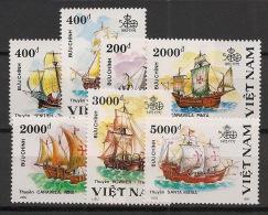 Vietnam - 1991 - N°Yv. 1183 à 1189 - Voiliers - Neuf Luxe ** / MNH / Postfrisch - Vietnam