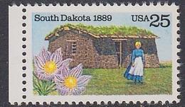 USA 1989 South Dakota 1v ** Mnh (35117D) - Nuovi