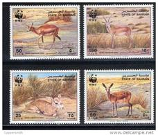 (014 W) Bahrain  Animals / WWF / Gazelles / Animaux / Tiere / Dieren  ** / Mnh  Michel 511-14 - Bahreïn (1965-...)