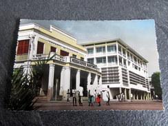 CPSM Animée - DJIBOUTI - Place Lagarde - Dschibuti