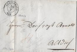 VORPHILATELIE → 1846 Brief Von BECKENRIED Nach Altdorf  ►Winkler 3866/4◄ - Suisse